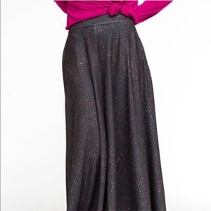 NWT Agnes & Dora black sprinkle Ball skirt